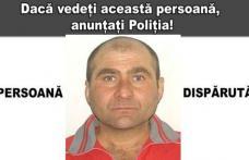 Persoană dispărută: Poliția caută un bărbat care a plecat de un an și nu a mai revenit la domiciliu