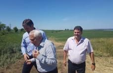 Ministrul agriculturii, Petre Daea, a revenit în județul Botoșani, la Stânca - FOTO