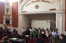 """Colegiul Național """"Grigore Ghica"""" Dorohoi Concurs județean """"Dezbatere şi oratorie"""" - FOTO"""