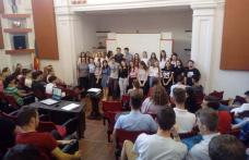 "Proiect eTwinning desfășurat la Colegiul Național ""Grigore Ghica"" Dorohoi - FOTO"