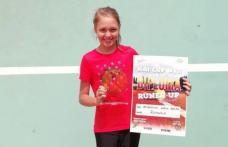 """Muncă, talent și performanță! Tenismenă din Dorohoi finalistă la Turneul Internațional """"HAI CUP"""" - FOTO"""