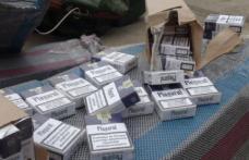 Ţigări de contrabandă, confiscate de poliţiştii din Botoşani