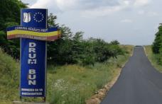 """""""Singurul drum naţional de pământ"""" a fost asfaltat - FOTO"""