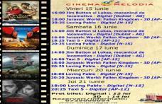 """Vezi ce filme vor rula la Cinema """"MELODIA"""" Dorohoi, în săptămâna 15 – 21 iunie – FOTO"""