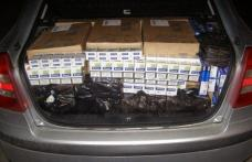 Un alt transport ilegal de ţigări a fost interceptat și confiscat de poliţişti