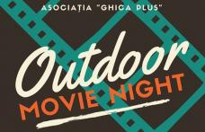 "Outdoor Movie Night! Asociația ""Ghica Plus"" invită tinerii din Dorohoi la o seară de film în aer liber"
