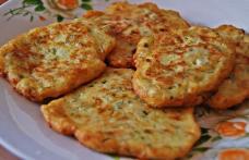 Chiftele din dovlecei cu brânză