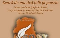 Seară de muzică folk și poezie la Dorohoi