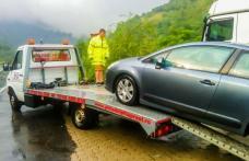 Accident provocat de un șofer fără permis