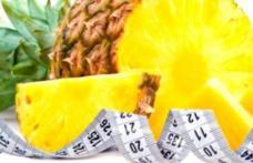 Vezi cum poți scăpa de un kilogram pe zi cu dieta cu ananas