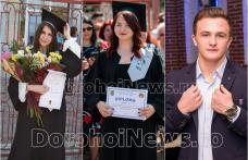 Bianca, Roxana și Alexandru – Dorohoienii de 10 la Bacalaureat 2018