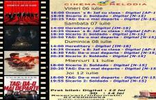 """Vezi ce filme vor rula la Cinema """"MELODIA"""" Dorohoi, în săptămâna 6 – 12 iulie – FOTO"""