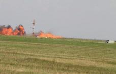 Un avion MiG-21 Lancer s-a prăbușit la Baza Aeriană Borcea. Pilotul a murit