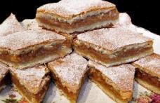 Prăjitură cu mere din copilăria mea