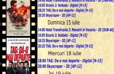 """Vezi ce filme vor rula la Cinema """"MELODIA"""" Dorohoi, în săptămâna 13 – 19 iulie – FOTO"""