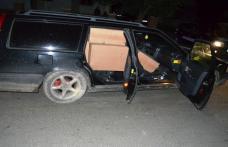 Volvo plin cu colete de contrabandă oprit la Crasnaleuca - FOTO