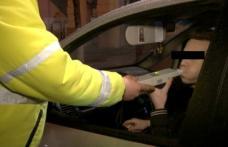 A căzut la testul cu fiola. Șofer beat, depistat de polițiști în timp ce conducea pe un drum european