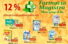 Farmacia Magistra: Campanie promoțională cu reducere la toate produsele pentru copii