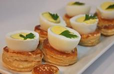 Cuiburi de foitaj cu ouă
