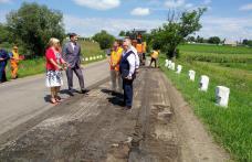 Întâlnire de lucru despre drumurile naționale din județ - FOTO