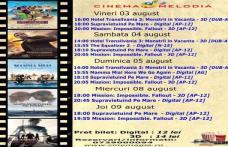"""Vezi ce filme vor rula la Cinema """"MELODIA"""" Dorohoi, în săptămâna 3 - 9 august – FOTO"""