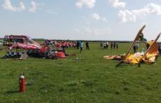 Două avioane de mici dimensiuni s-au ciocnit în zbor şi s-au prăbuşit, la Suceava
