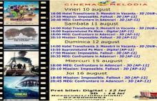 """Vezi ce filme vor rula la Cinema """"MELODIA"""" Dorohoi, în săptămâna 10 - 16 august – FOTO"""