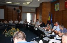 Vizită de studiu în sala de ședințe a Palatului Administrativ al Județului Botoșani