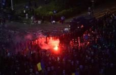 Violențe fără margini la mitingul diasporei: Sute de răniți! Zeci de oameni au protestat și la Botoșani