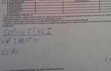 Ce a scris un elev într-o lucrare la BAC la română. De râs sau de plâns?
