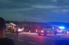 Accident! Biciclist acroșat de un autoturism pe drumul Dorohoi-Botoșani - FOTO