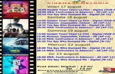 """Vezi ce filme vor rula la Cinema """"MELODIA"""" Dorohoi, în săptămâna 17 - 23 august – FOTO"""