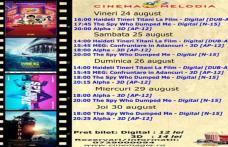 """Vezi ce filme vor rula la Cinema """"MELODIA"""" Dorohoi, în săptămâna 24 - 30 august – FOTO"""