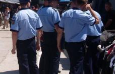 Acțiune de amploare a polițiștilor, în Piața Centrală Botoșani