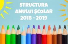 Structura anului școlar 2018-2019. Luni începe școala! Când vor avea loc examenele