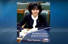 """Doina Federovici: """"Noul An Școlar începe sub auspiciile celor mai importante investiții în infrastructura școlară din ultima perioadă"""""""