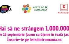 """LET""""S DO IT ROMÂNIA 2018 la Dorohoi - Hai să curățăm țara pe 15 septembrie"""