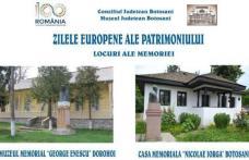 """Zilele Europene ale Patrimoniului desfăşurate la Dorohoi sub genericul """"Locuri ale memoriei"""""""