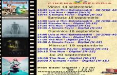 """Vezi ce filme vor rula la Cinema """"MELODIA"""" Dorohoi, în săptămâna 14 – 20 septembrie – FOTO"""