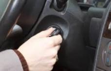Mașină lăsată cu motorul pornit și cu cheile în contact, furată din parcarea unui supermarket din Botoșani