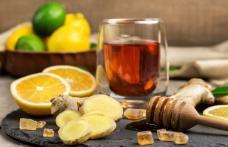 În combinație, mierea, lămâia și ghimbirul tratează răceala