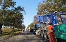 Au început lucrările de modernizare a drumului național DN 29A Cucorăni-Bucecea-Vârfu Câmpului-Siret - FOTO
