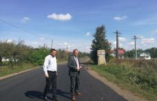 Au fost finalizate lucrările de asfaltare pe drumul județean DJ 293 Dumeni – Havârna - FOTO