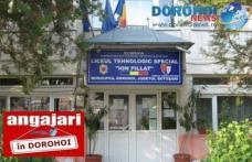 """Școala Profesională Specială """"Ion Pillat"""" organizează concurs pentru un post de asistent social și unul de șofer"""