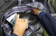 Ţigări confiscate de jandarmi în zona Pieţei Centrale