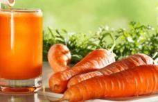 Sucul de morcov, o excelentă sursă naturală de vitamine
