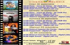 """Vezi ce filme vor rula la Cinema """"MELODIA"""" Dorohoi, în săptămâna 28 septembrie – 04 octombrie – FOTO"""