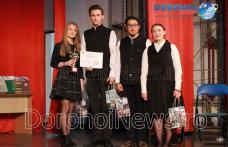 """Concursul """"File de istorie locală"""" - Patru licee s-au întrecut în cunoștințe despre Dorohoi - FOTO"""