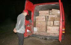 74 950 de pachete de tigări şi două maşini confiscate pentru contrabandă