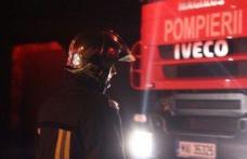 Mașină cuprinsă de flăcări pe drumul Dorohoi – Darabani! Pompierii dorohoieni au intervenit pentru stingere